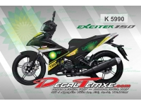 Tem Exciter 150 castrol power
